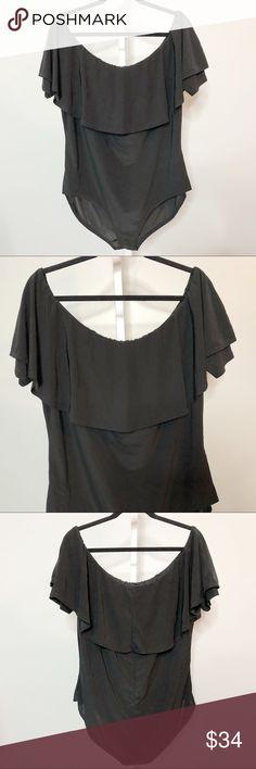 514b4b82c74c Boohoo Plus Bodysuit Size 20 Boohoo Plus Body Suit Black NWT Off The  Shoulder Plus Size