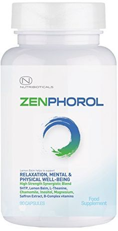 Zenphorol® Stress and Anxiety Relief | Reduces Symptoms of Depression and Panic…