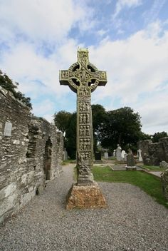 West face of the West Cross, Monasterboice County Louth, Ireland