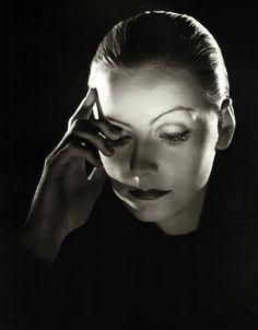 hands, shadows, highlights  Greta Garbo, in Mata Hari, directed by George Fitzmaurice, 1931