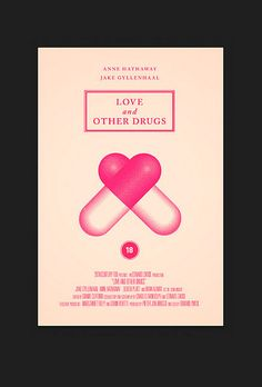 Love and Other Drugs by Olly Moss