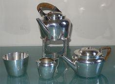 Russian Silver Faberge Tea Set 1896 Sotheby's Sale