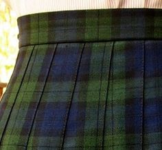 """OMG, this is IT! This is EXACTLY the plaid of my grade school uniform at Our Lady of Lourdes in the 1960s!!!  YUK-A-PUK!! To this day, my girlfriend and I call this """"Our-Lady-of-Lourdes-plaid""""!!! I can't abide plaids of any kind and I will not wear them. I went on to an even worse plaid at Our Lady of Victory in the early 1970s, but I have never recovered from """"plaid-itis."""""""