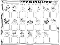 Live, Love, Laugh Everyday in Kindergarten: Freebies--snowman and penguin themed literacy activities Winter Activities, Literacy Activities, Alphabet Activities, Educational Activities, Math Stations, Math Centers, Reading Centers, Kindergarten Freebies, Kindergarten Curriculum