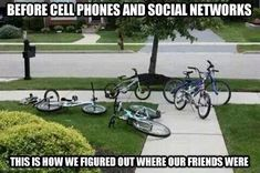 Life Before Cell Phones ahahhahaha