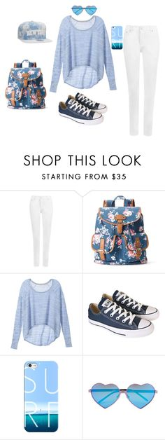"""shool"" by sara-tadic-1 ❤ liked on Polyvore featuring WearAll, Candie's, Victoria's Secret, Converse, Casetify and Wildfox"