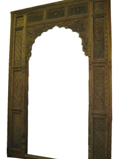 Antique Arch Carved Entrance Door/Window Frame Wooden  $3,300.00