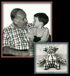 Grandpa's shirt Teddy bear *Make a teddy bear using a shirt of loved one who has died.