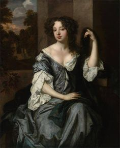 Eye Candy for Today: Peter Lely's Portrait of Louise de Keroualle. Lines and Colors: http://linesandcolors.com/2016/11/15/eye-candy-for-today-peter-lelys-portrait-of-louise-de-keroualle/