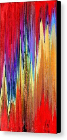 Pixel Sorting 20 Canvas Print by Chris Butler.  #art #abstract #artdeco #design #interior #home #Decor #wall #modern #contemporary #homedecor #abstractart #interiordesign #simple #canvas #print #pixelsorting #pixelsort #hue #algorithm #glitch