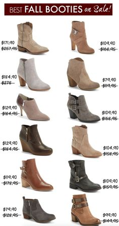 Fall Fashion - Best Fall Boots on sale!