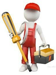 Illustration about white people. Electrician with tool box and screwdriver . Illustration of tester, repair, services - 32045238 Imagenes Gift, Emoji Photo, Animated Clipart, 3d Human, Sculpture Lessons, 3d Icons, Ville France, White People, Play Golf