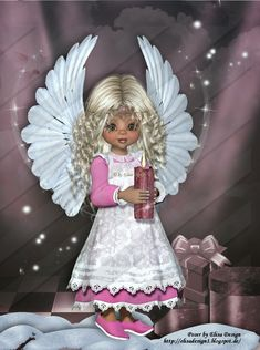ElisaDesign Fairy Pictures, Angel Pictures, Cute Pictures, Beautiful Angels Pictures, Beautiful Dolls, Little Girl Pictures, Cute Little Girls, Bear Halloween, Niklas