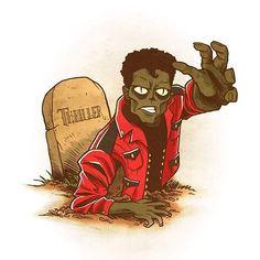 Drawlloween 2015 - Day 8 - Zombie