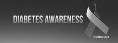 Diabetes Awareness Facebook cover