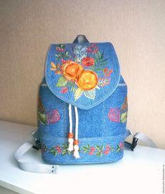 Рюкзак джинсовый женский Краски осени 2 – купить в интернет-магазине на Ярмарке  Мастеров с доставкой fbcb567b311