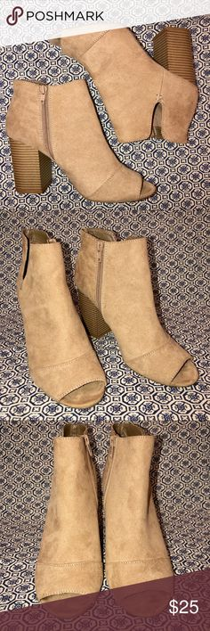 Women's Shoes Divided H&m Ladies Ankle Boots Size 4
