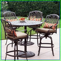 bar patio table and chairs #bar #patio #table #and #chairs Please Click Link To Find More Reference,,, ENJOY!! Bar Patio, Outdoor Patio Bar Sets, Outdoor Seating Areas, Patio Dining, Patio Chairs, Outdoor Dining, Outdoor Tables, Outdoor Decor, Balcony Bar