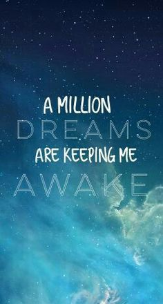 . #dream #awake