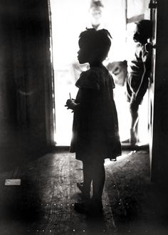 First Day at School; Long Island, NY  photo by Eve Arnold, 1951