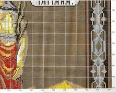 Icon of St. Tatiana - <u>картина для вышивки крестом павлины</u> ICONS - cross stitch PATTERNS - File Catalog - HOBBY
