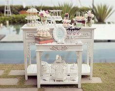 Shabby Chic Provençal Casamento