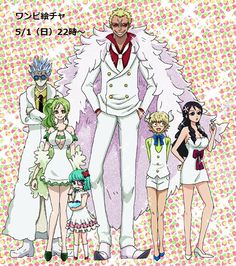 One Piece, Donquixote Family