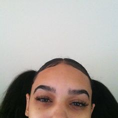 Brow goals! My brows are almost there. Castor oil really works. I want my brows so thick that I don't have to fill them in at all. pιnтereѕт: j0rdanвrιanna