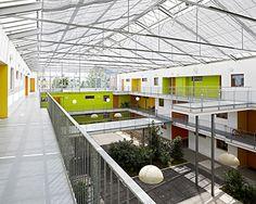 Centro de leyes john y frances angelos universidad de - Behnisch architekten boston ...