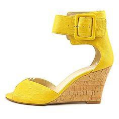 b6ed3991006a  UK   Ireland  Nine West Crudenza Leather Wedge Sandal Buy New  £42.99