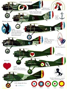 1914 - 1918 The Great War Spad 13