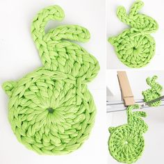 Some more  patterns of easter bunny #jodlove #easterbunny #eastertime #crochetbunny #kottoon #recznarobota #handmade #tshirtyarn #crochetlife #crochetlove #crochetaddict #trapillo #häkeln #gancillo #uncinetto #szydełko #rękodzieło #greenery #green