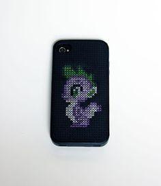 pretty cute. MLP Cross stitch iPhone Case