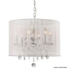 Check out Gertrude Crystal Chandelier Ceiling ideas Adorn any space with this crystal hanging lamp from warehouse of tiffany. A chrome finish and six lights finish this lov. CHECK PRICE SEE Chandelier Lighting Fixtures, Ceiling Chandelier, Chandelier Shades, Home Lighting, Light Fixtures, Ceiling Lights, White Chandelier, Tiffany Chandelier, Closet Chandelier