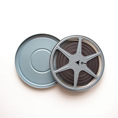 Vintage Film Reel - Blue - With Vintage Home Movie by ThisCharmingManCave on Etsy  https://www.etsy.com/listing/229787465/vintage-film-reel-blue-with-vintage-home