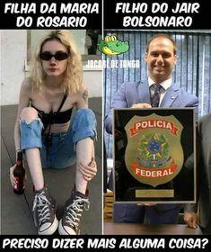 Diário de um Gaúcho Grosso: Filha da Rosário X Filho do Bolsonaro Poses, Humor, Funny, Beauty, Facts, Humorous Pictures, Daughter, Jokes, Funny Memes