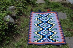 Bright Southwestern Style Rug