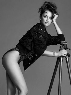 """Spanish actress Penelope Cruz is photographed by Nico for the November 2014 """"Sexiest Woman Alive"""" issue of Esquire magazine."""