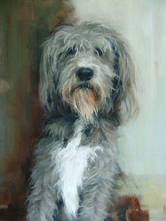 Deborah Tilby - Bentley (In memory of Rags)