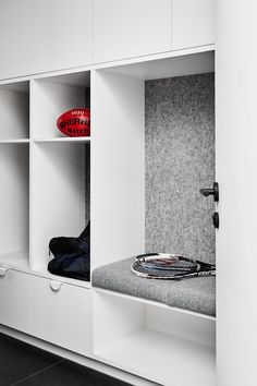 Hunter S, Joinery, Building Design, Interior Architecture, Studio, Landing, Laundry, Houses, Interiors