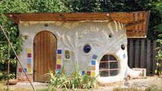 Ian M. Clemons and family; Portland, Ore. This greenhouse/playhouse was hand-built with cob — a combination of sand, straw and clay. The straw was locally sourced, and the clay came directly from the Clemons' backyard.