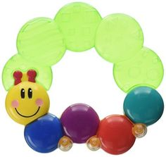 Baby Einstein Teether-pillar Toy (Products Sold Individually) review It's a tried and true way to soothe baby's sore gums. Teether-pillar is a water-filled teether that can be chilled in the refrigerator to add extra soothing relief to baby's tender gums during teething. The beloved Baby Einstein caterpillar is easy for little hands to grab and...