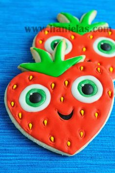 Haniela's: Barry Cookies From Cloudy with a Chance of Meatballs 2