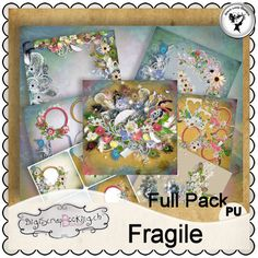 Fragile - Full Pack by Black Lady Designs