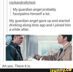 Supernatural to the rescue...as usual.