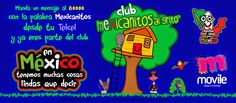 Recibe mensajes positivos de México en tu Telcel.   Manda un mensaje al 80000 con la palabra mexicanitos desde tu telcel y ya eres parte del club.