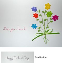 I love the pretty cards you can make with the fun packs of buttons!