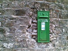 Post box in wall in Ballinakill, Co. Laois