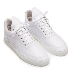 All Models : Low Top Grain White | Filling Pieces