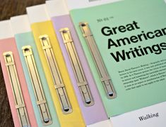 ✣ BOOK BINDING ✣ Great American Writings by Erik Anthony Hamline